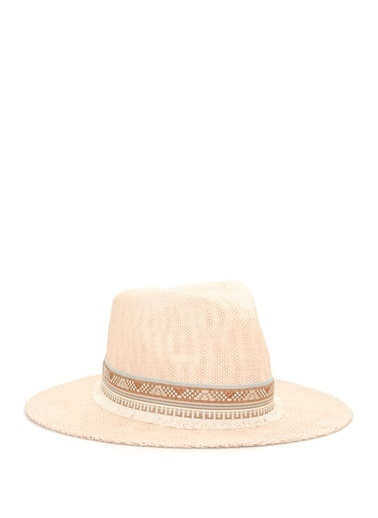 Ferruccio Vecchi Şapka Pembe